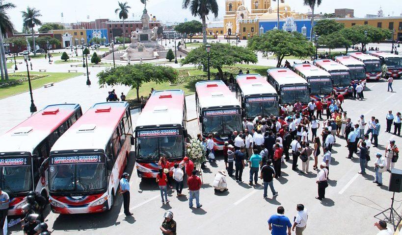 Empresas de Servicio Transporte Público Trujillo La libertad